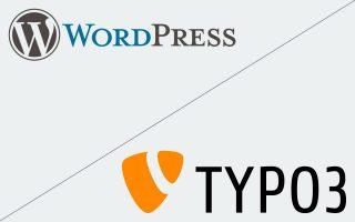 CMS WordPress und Typo3